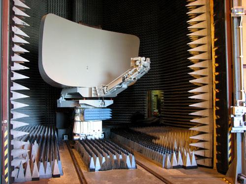 Испытание радиопоглощающего материала