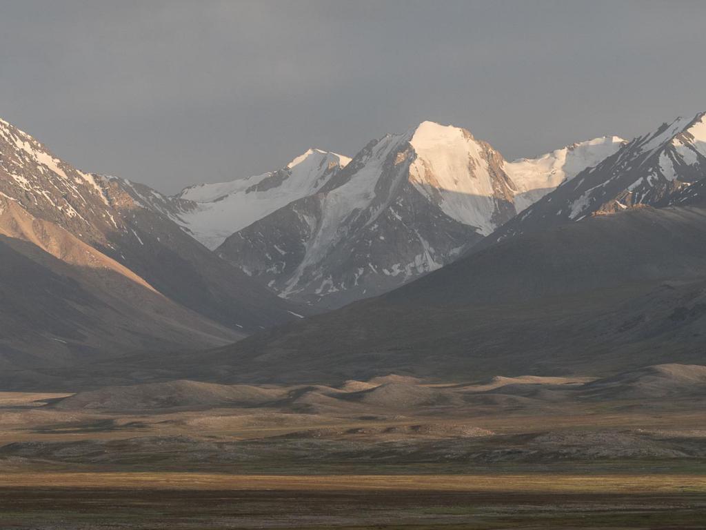 Горы Бадахшана.