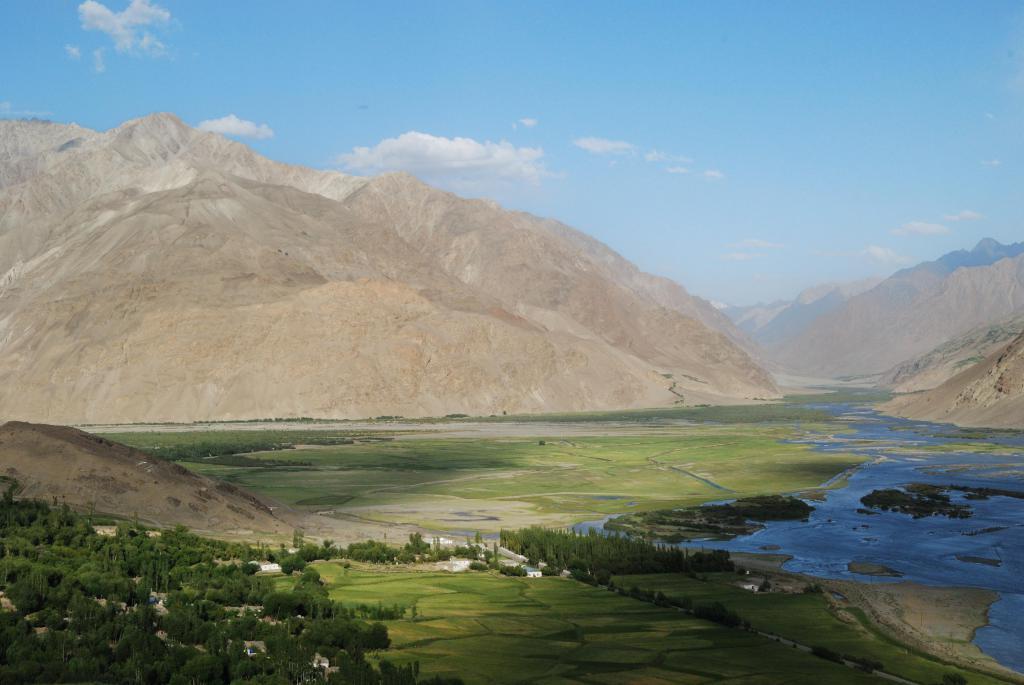 Пейзаж Бадахшана.