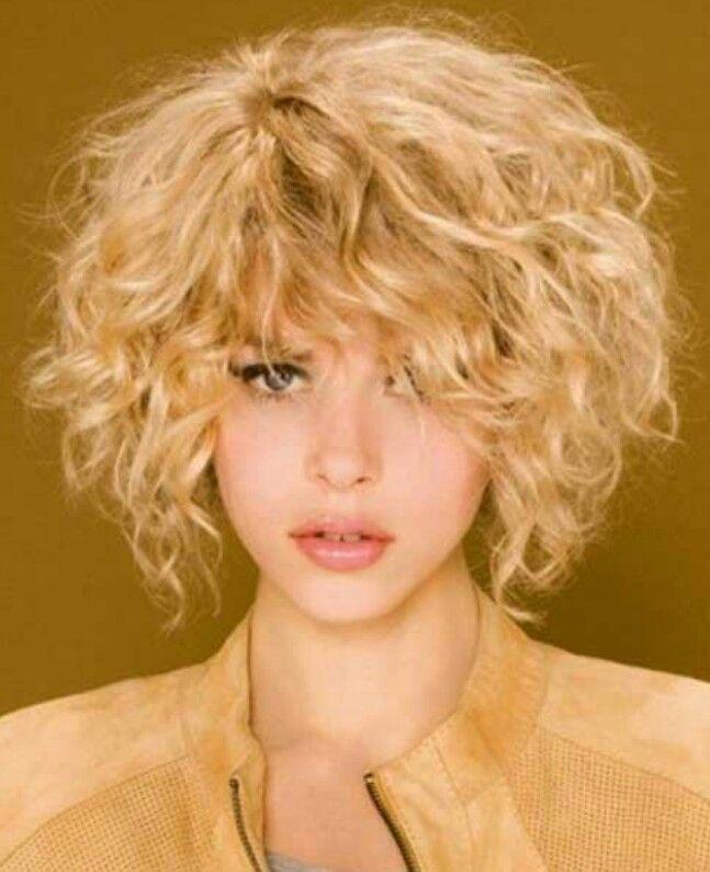Стрижки без укладки для вьющихся волос