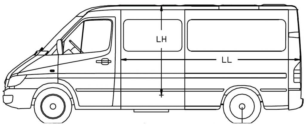 """Обзор, фото и технические характеристики """"Мерседеса-Спринтер-Классик 311 CDI"""""""