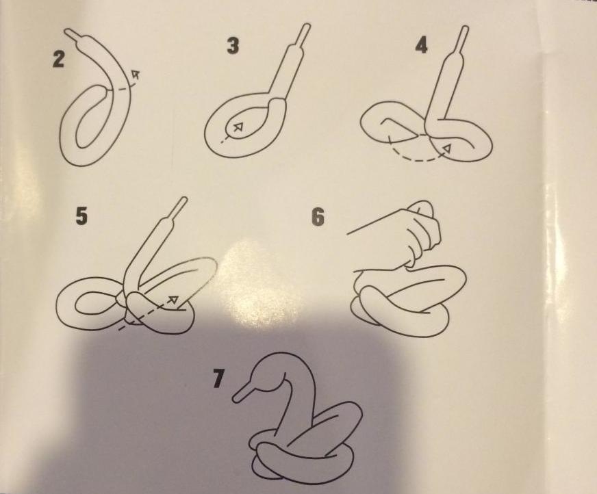 Как сложить лебедя