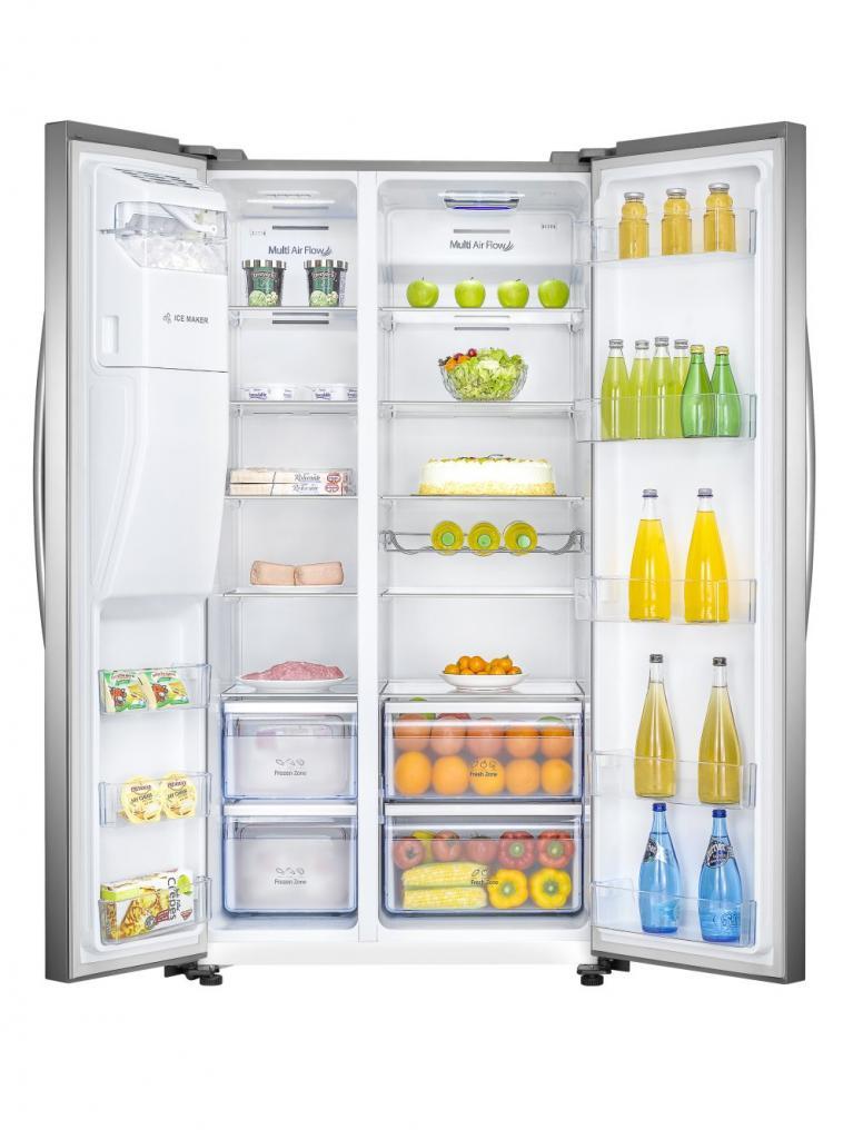 Генератор льда на двери холодильника