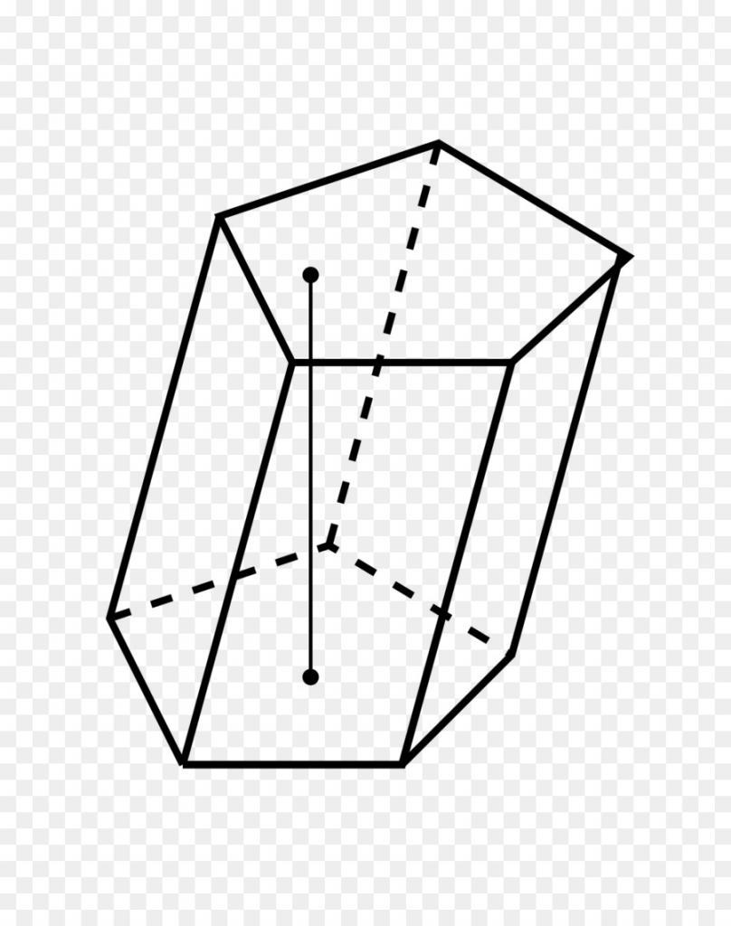 Косоугольная пятиугольная призма