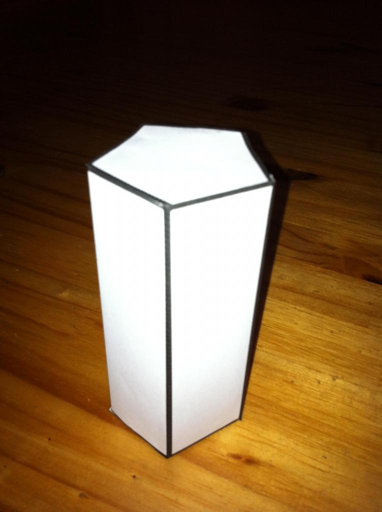 Правильная пятиугольная призма
