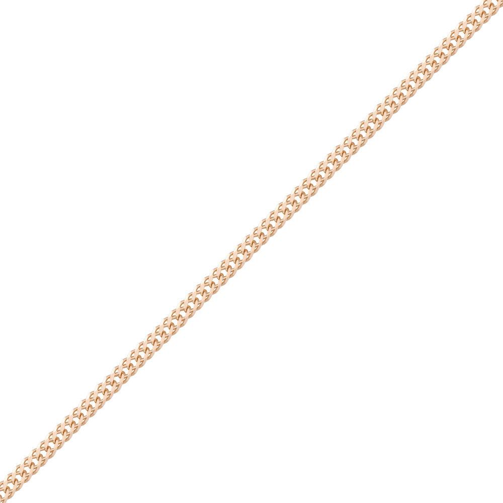 золотая цепочка двойной ромб