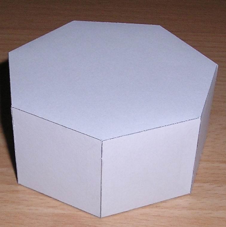 Семиугольная правильная призма