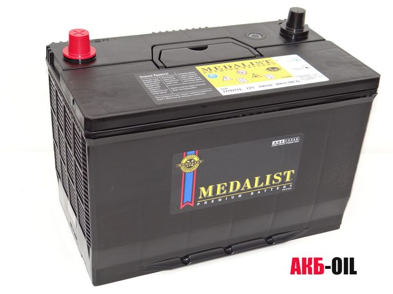 Автомобильный аккумулятор Medalist: обзор, характеристики, отзывы