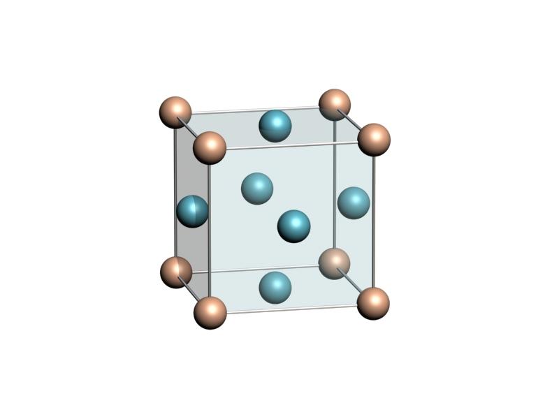 Кубическая решетка металлов