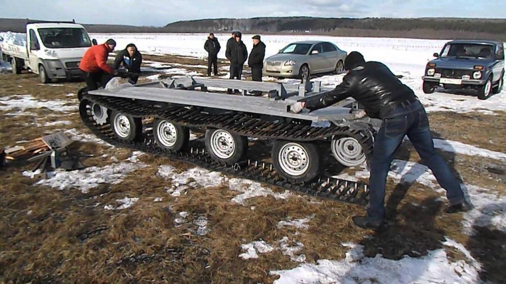 """Вездеход """"Метелица"""" - уникальная платформа для легкового автомобиля"""