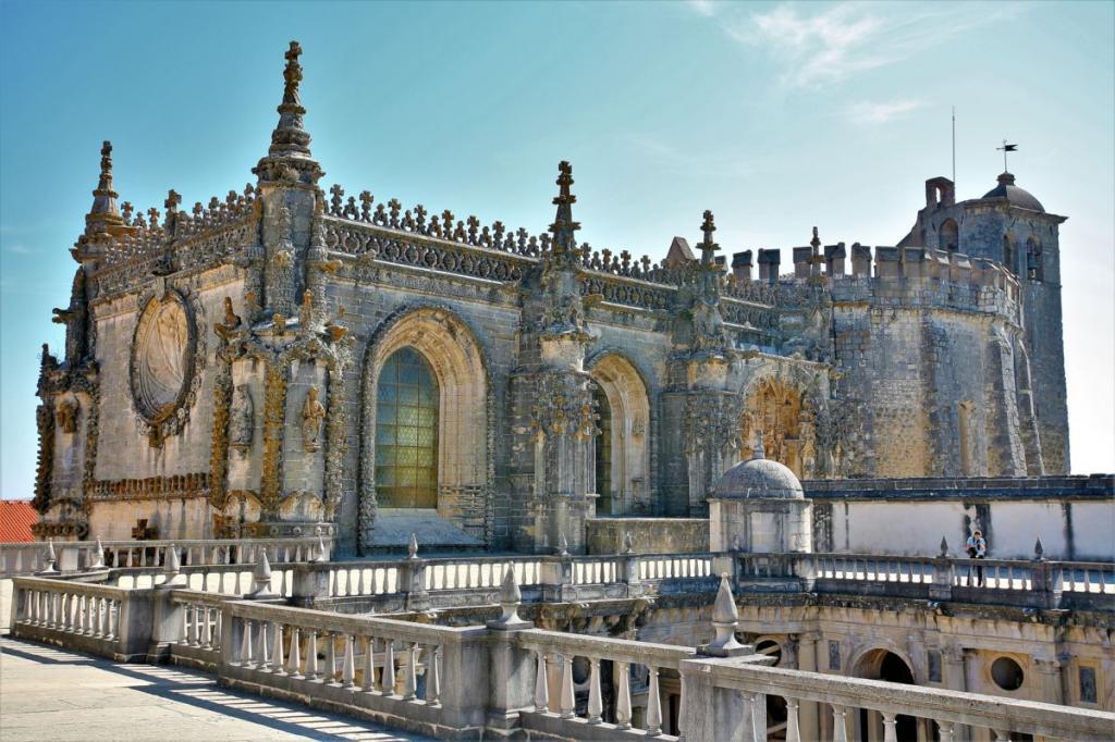 томар португалия замок тамплиеров