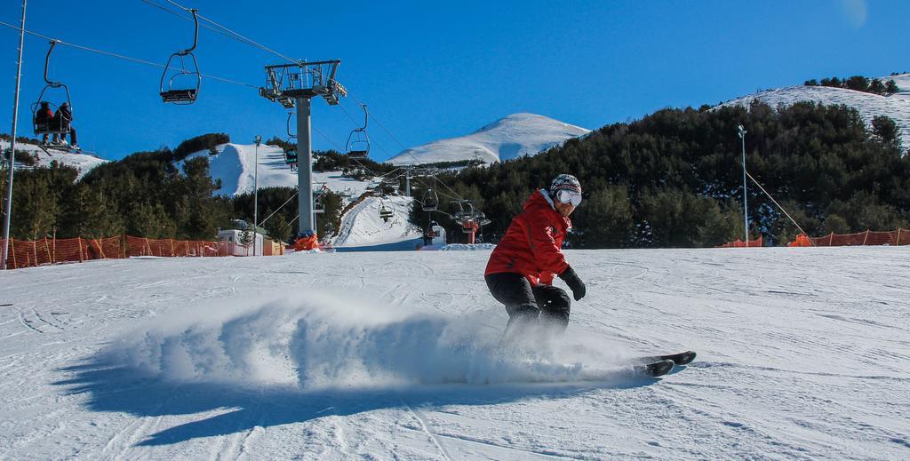 лыжник в Эрзуруме