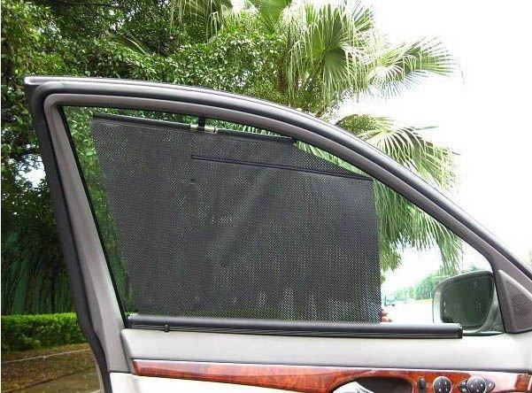 Виды солнцезащитных шторок на боковые стекла автомобиля. Шторки своими руками