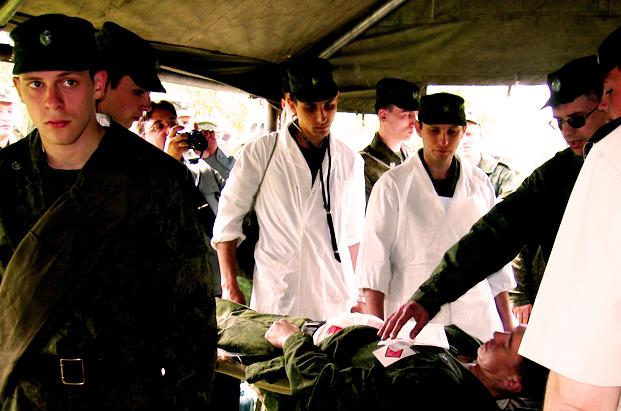 первая медицинская помощь при поражении ядерным оружием