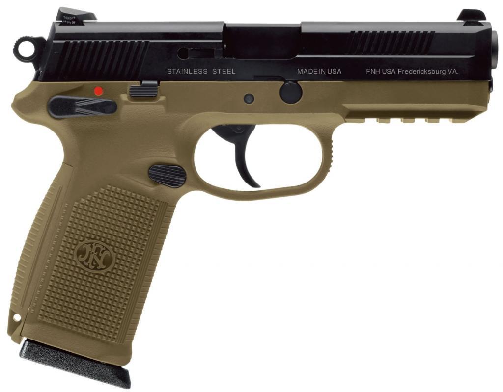 FN-FN P45 - самый лучший пистолет