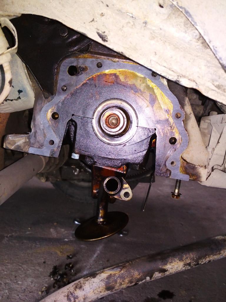 Замена масляного насоса на ВАЗ-2109 своими руками