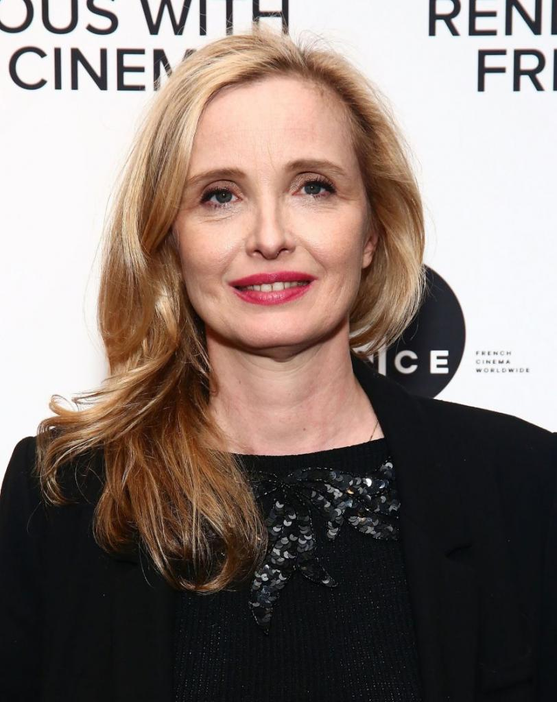 французский макияж на актрисе