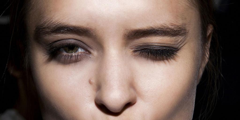 макияж глаз и бровей