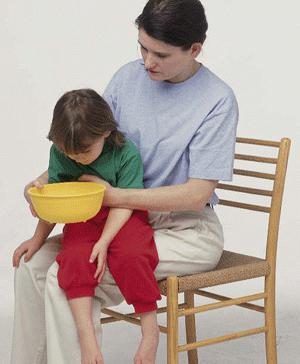 рвота у детей без температуры лечение