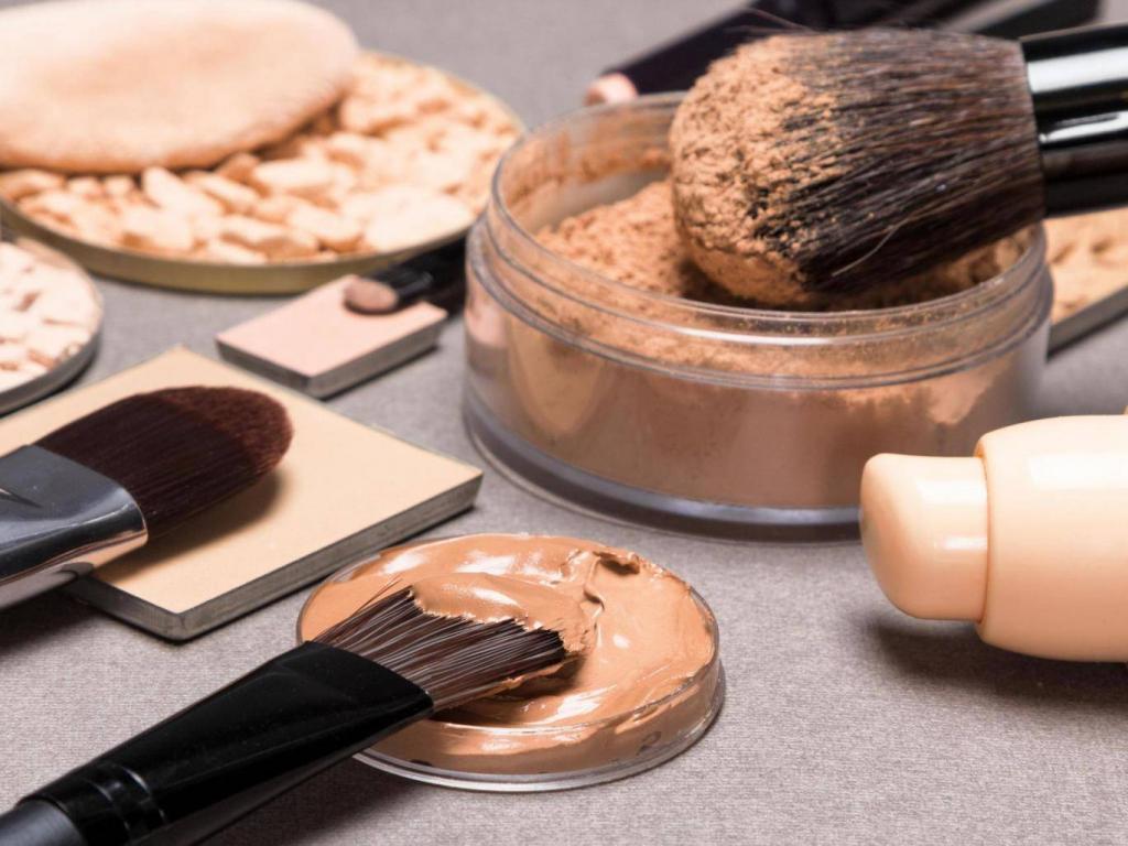 Эффект тонального крема