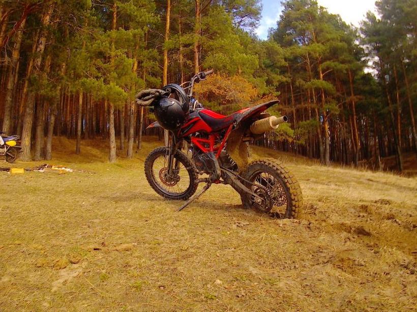 Irbis ttr 125r: езда для каждого!