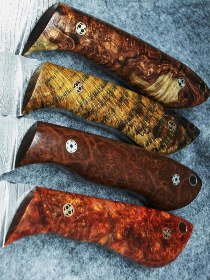 Рукояти ножей из сувеля