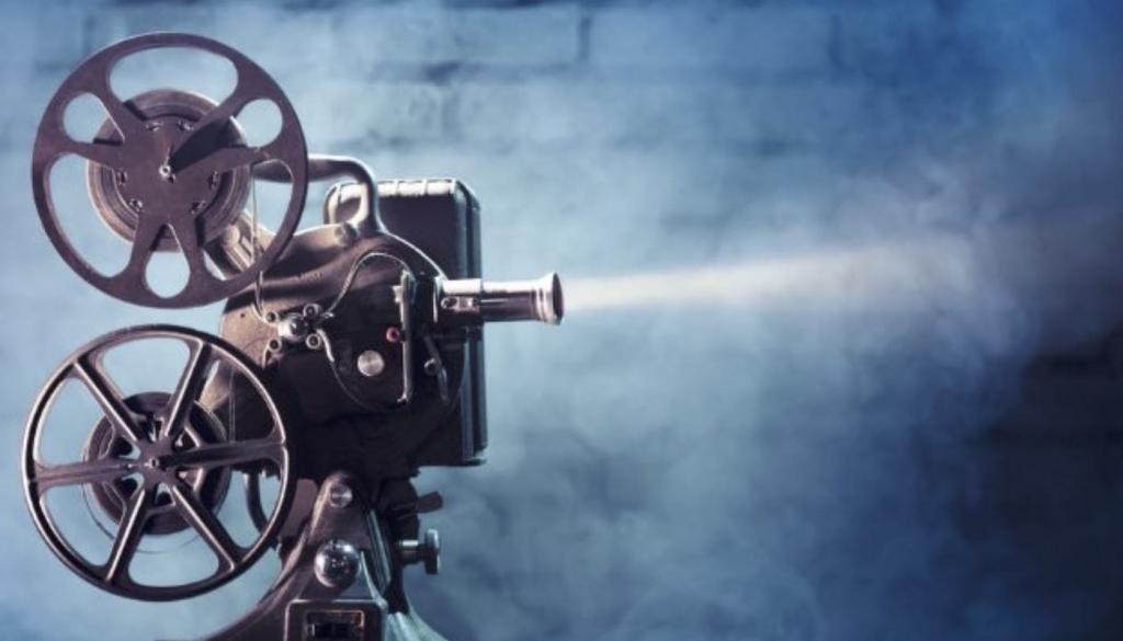 Просмотр кинопленки
