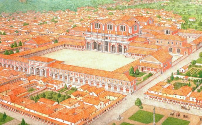 Облик города Трир