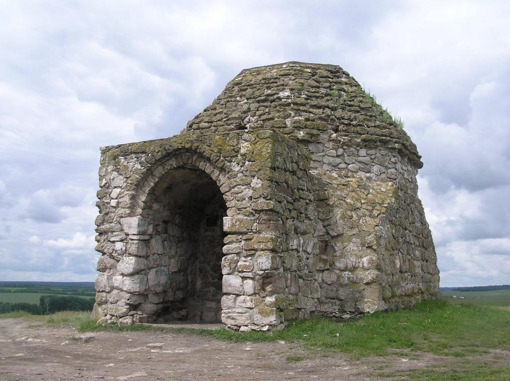 Реконструкция жилища людей бронзового века