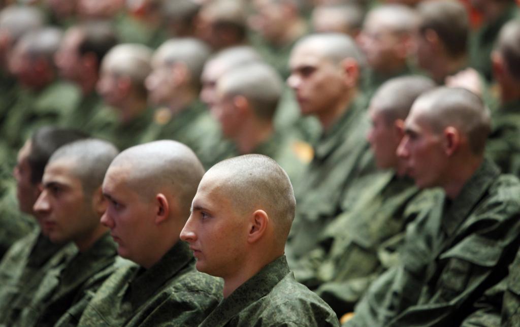 Солдаты призывники
