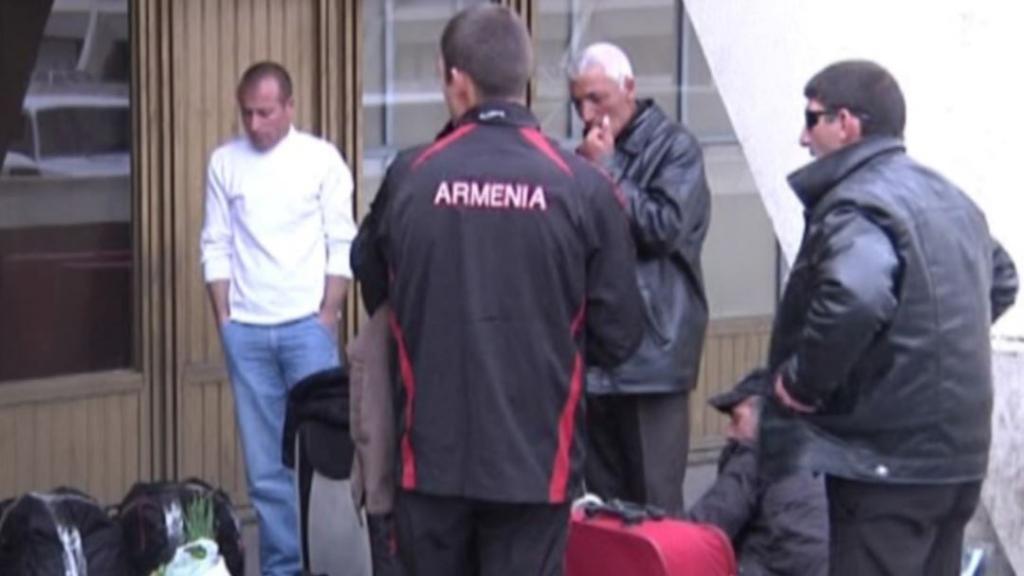 Армянские мигранты
