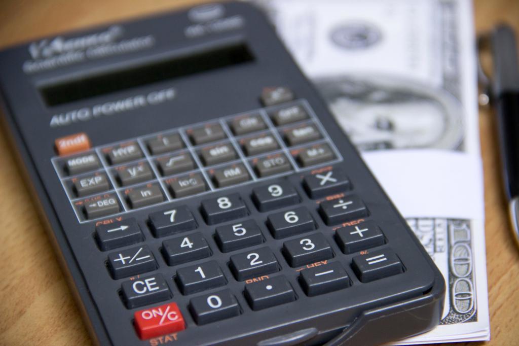 Подсчет долгов