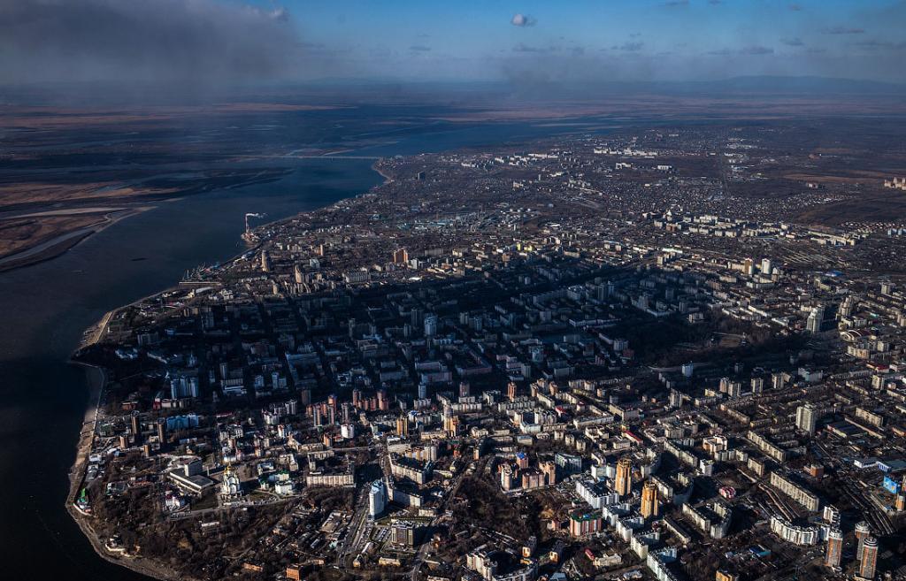 Хабаровск с высоты