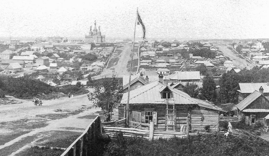 Старые фото Хабаровска