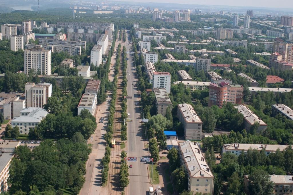 Уфа - столица Башкирии