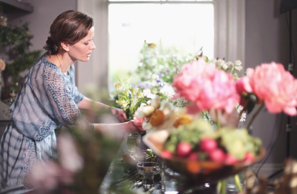 Рабочие будни флориста