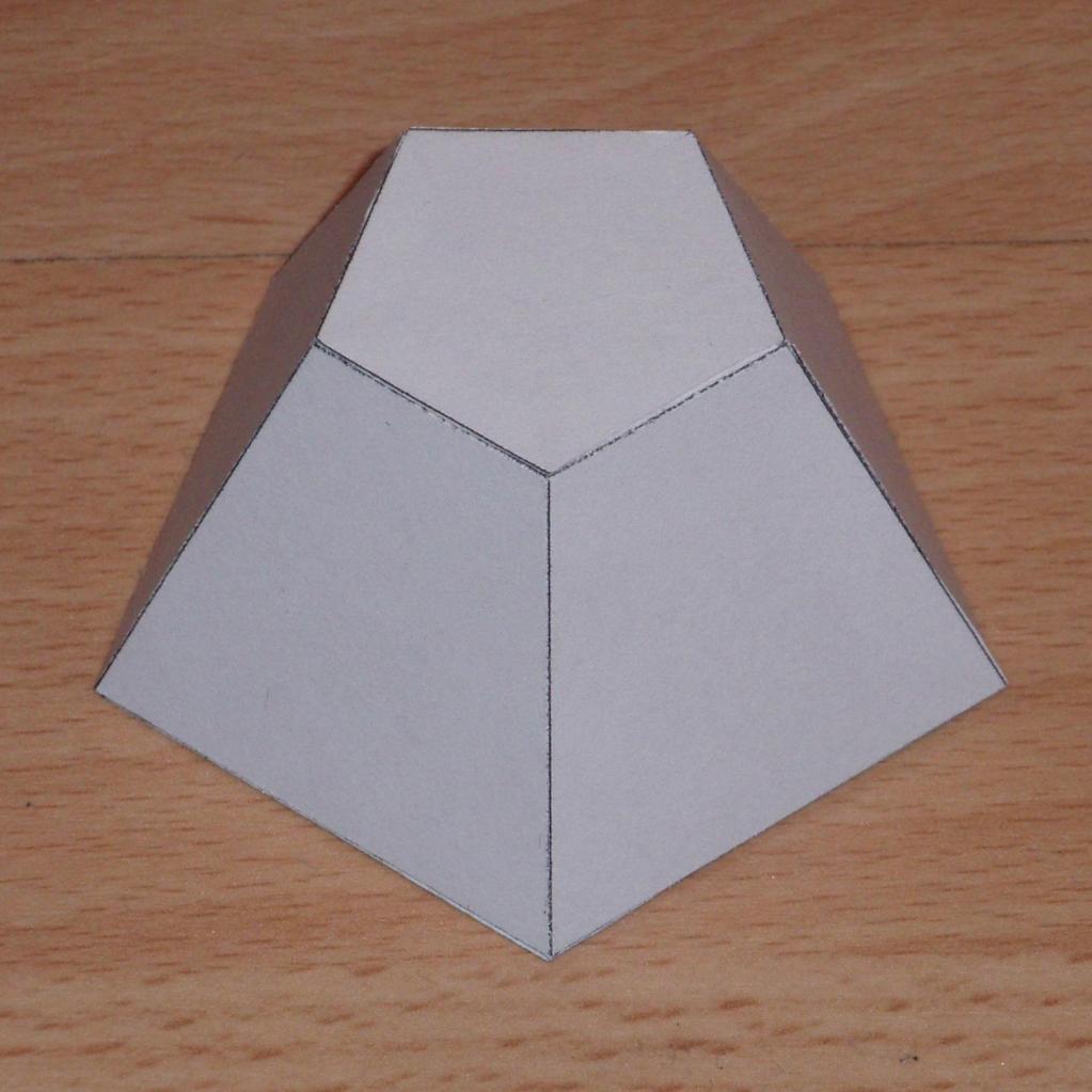 Пятиугольная усеченная пирамида
