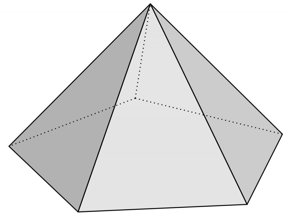 Пятиугольная пирамида
