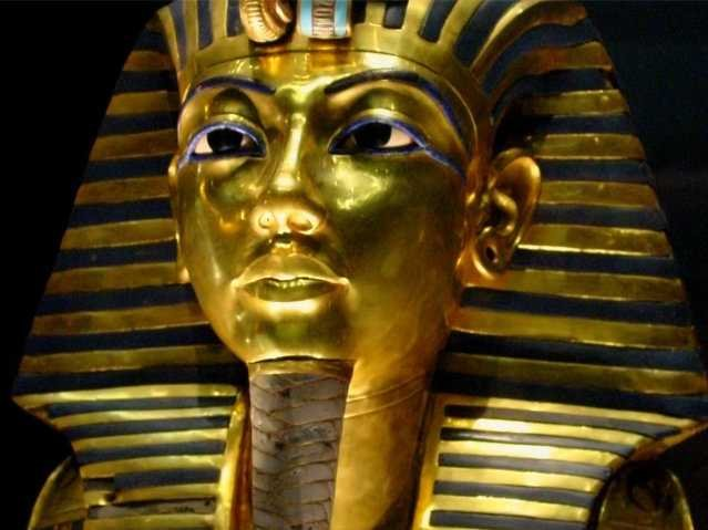 Золотая маска Татунхамона