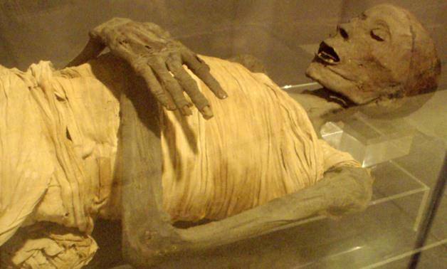 Мумия древнего египтянина