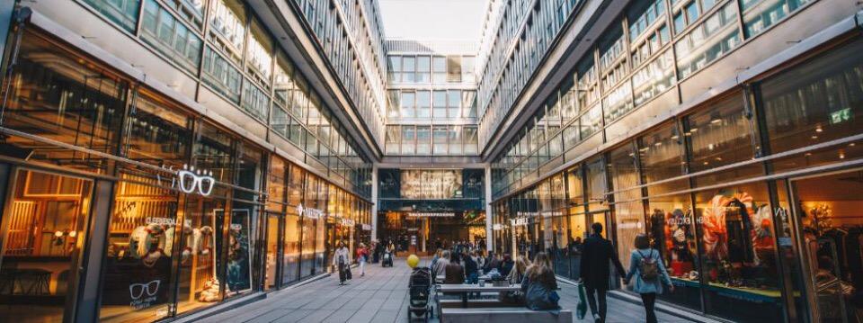 Торговый центр в Мюнхене