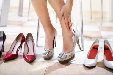 как разносить узкую обувь
