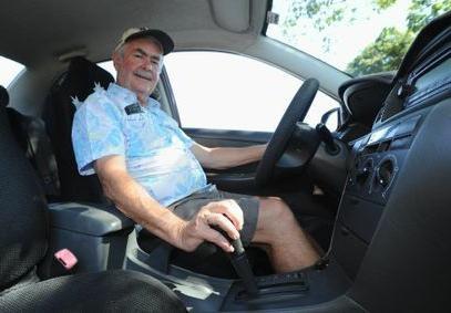 вождение автомобиля с коробкой автомат