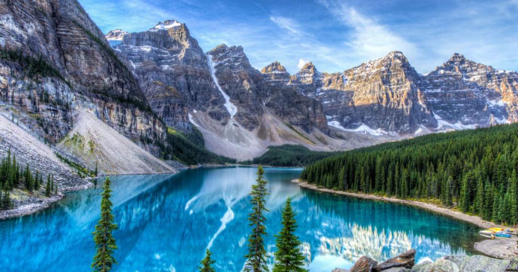 Одно из озер в Канаде