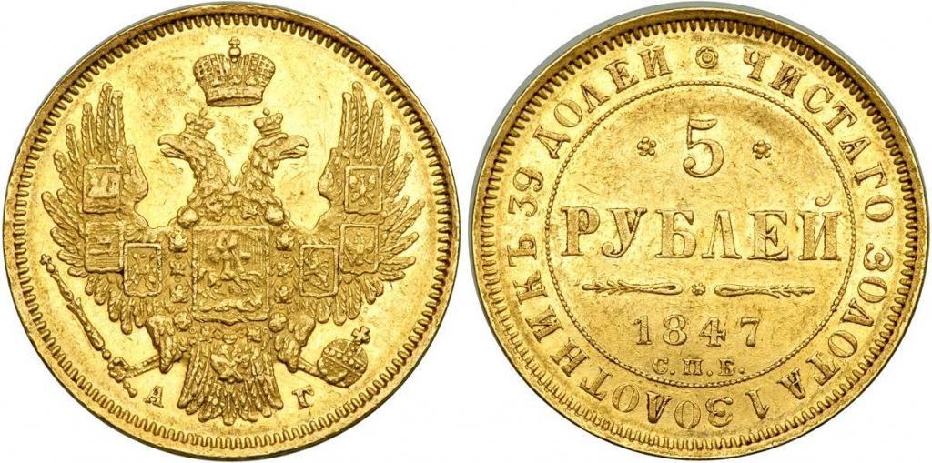 золотой червонец николай 2