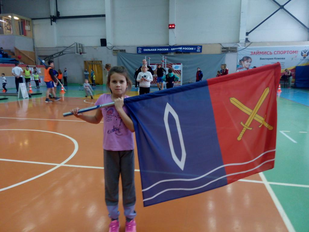 С флагом Тейково