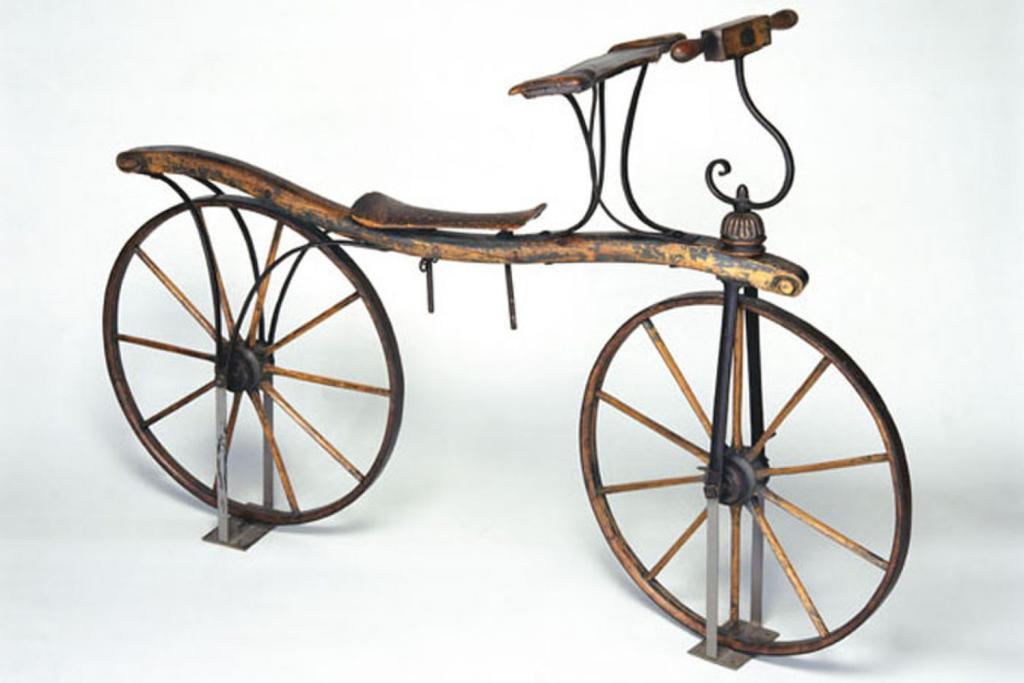 велосипед 1817 года