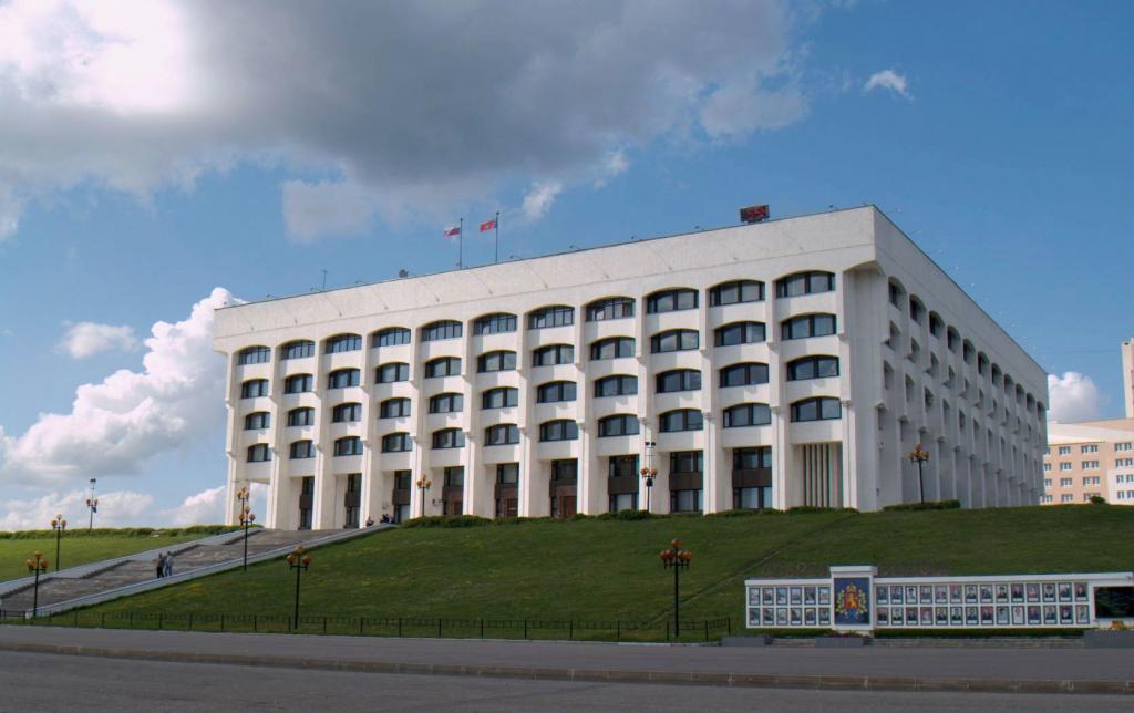 Белый Дом города Владимира