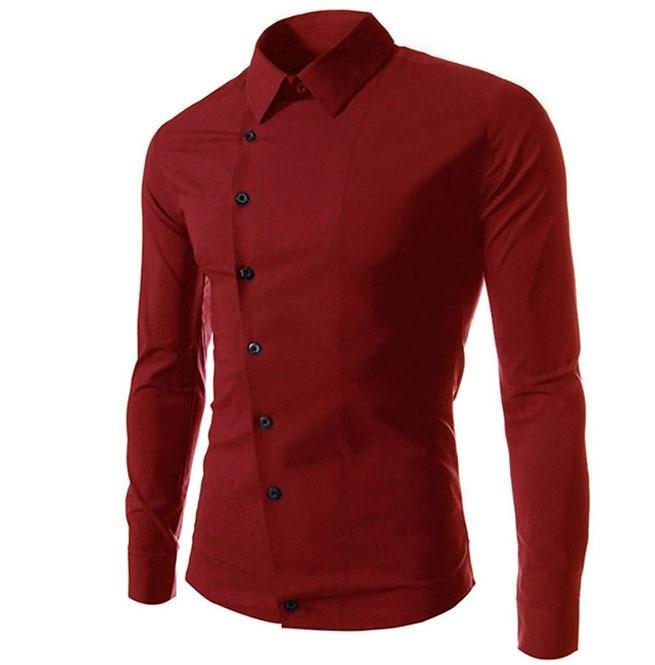 Асимметричный крой рубашки