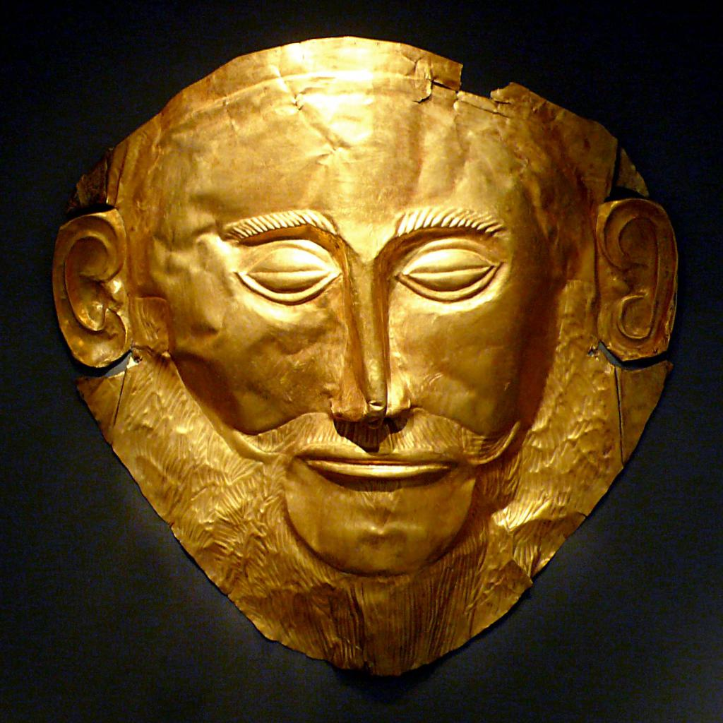 Древняя маска